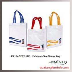 Túi vải không dệt - túi vải quai xách 036