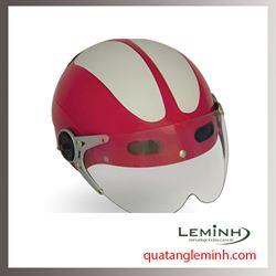 Mũ bảo hiểm quà tặng - Mũ bảo hiểm nửa đầu có kính