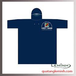 Áo mưa quà tặng - Áo mưa poncho cài cạnh không kính, 1 màu