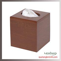 Hộp đựng khăn giấy gỗ - 004