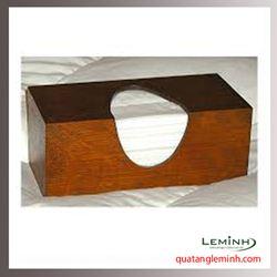 Hộp đựng khăn giấy gỗ - 008