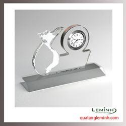 Đồng hồ pha lê cao cấp 015