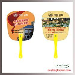 Quạt nhựa quảng cáo - Quạt nhựa cầm tay 036