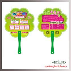 Quạt nhựa quảng cáo - Quạt nhựa cầm tay 035