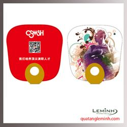 Quạt nhựa quảng cáo - Quạt nhựa cầm tay 029