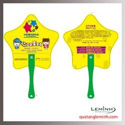 Quạt nhựa quảng cáo - Quạt nhựa cầm tay 026