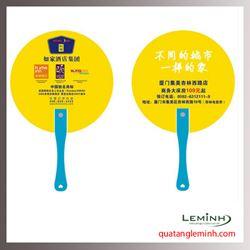 Quạt nhựa quảng cáo - Quạt nhựa cầm tay 022