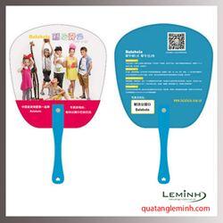 Quạt nhựa quảng cáo - Quạt nhựa cầm tay 020