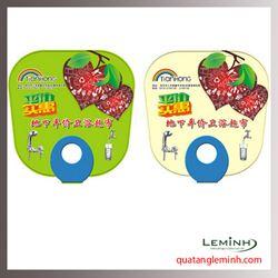 Quạt nhựa quảng cáo - Quạt nhựa cầm tay 018
