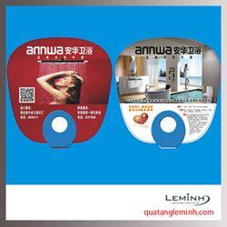 Quạt nhựa quảng cáo - Quạt nhựa cầm tay 015