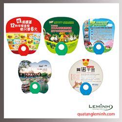 Quạt nhựa quảng cáo - Quạt nhựa cầm tay 06