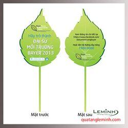 Quạt nhựa quảng cáo - Quạt nhựa cầm tay 07