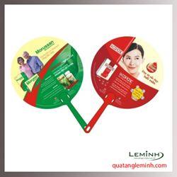 Quạt nhựa quảng cáo - Quạt nhựa cầm tay 012