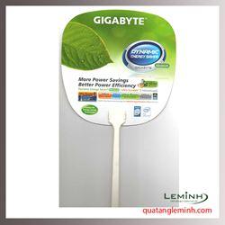 Quạt nhựa quảng cáo - Quạt nhựa cầm tay 013