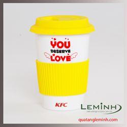 Cốc sứ Hàn Quốc Eco Cup - KH KFC
