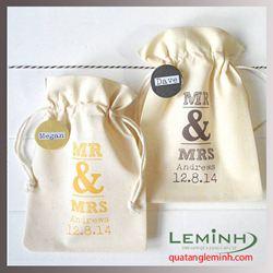 Túi vải bố - túi vải quà tặng 013