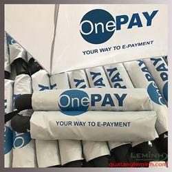 Ô gấp 3 tự động 1 chiều cao cấp - OnePay
