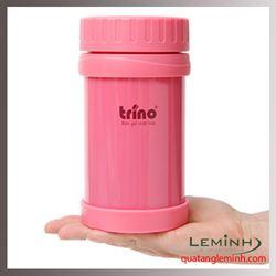 Bình giữ nhiệt Trino  500ml - Màu hồng cánh sen