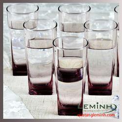Bộ cốc thủy tinh 6 chiếc Luminarc  330ml - trong suốt