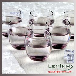 Bộ cốc thủy tinh 6 chiếc Luminarc Salto 320ml - pink