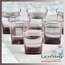 Bộ cốc thủy tinh 6 chiếc Luminarc300ml - pink