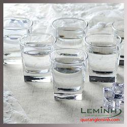 Bộ cốc thủy tinh 6 chiếc Luminarc300ml trong suốt