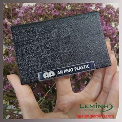 Hộp namecard kim Loại phối da cao cấp - An Phát plastic