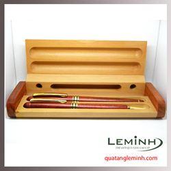 Bộ Bút gỗ quà tặng LM003