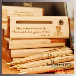 Bộ Bút gỗ quà tặng LM004