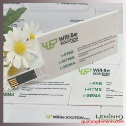 USB thẻ Namecard  - KH Will Be Solution