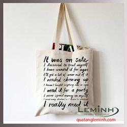 Túi vải bố - túi vải quà tặng 033