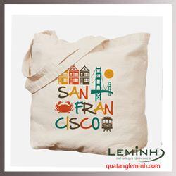 Túi vải bố - túi vải quà tặng 048