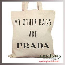 Túi vải bố - túi vải quà tặng 063