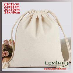 Túi vải bố - túi vải quà tặng 075
