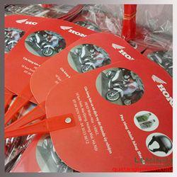 Quạt nhựa quảng cáo - Honda Tam trinh