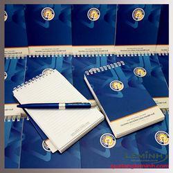 Bộ sổ tay, bút bi quảng cáo - CĐ Công Nghiệp Huế