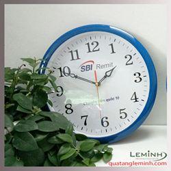 Đồng hồ treo tường quảng cáo - SBI Remit