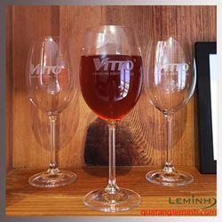 Bộ ly rượu vang đỏ Bohemia cao cấp - Vitto