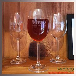 Bộ ly rượu vang đỏ Bohemia cao cấp