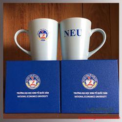 Cốc Sứ Hàn Quốc Pastel Mug Cup - KH ĐH KT Quốc Dân