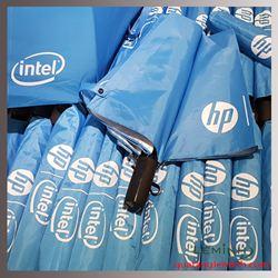 Ô Cầm Tay Gấp 2 Tay Cầm Nhựa In Logo - KH HP Intel