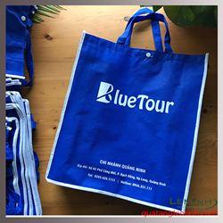 Túi vải không dệt quảng cáo - Blue Tour