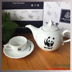 Quà tặng bộ ấm chén Minh Long - WWF Vietnam
