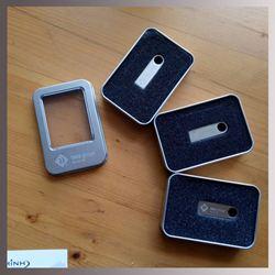 USB KIM LOẠI MINI - KHÁCH HÀNG IN LOGO TMS GROUP