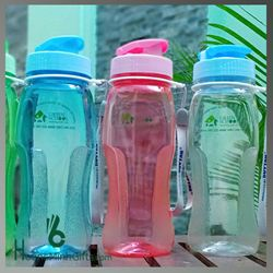 Bình Đựng Nước Nhựa Matsu In Logo - KH Green School