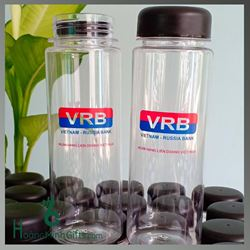Bình Đựng Nước Nhựa Mybottle In Logo - KH Viet Nam - Russia Bank