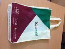 Túi vải không dệt may thời trang thương hiệu Kingwood