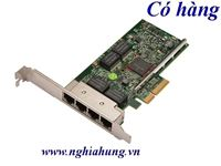 Card mạng DELL - Broadcom BCM5719 1G Quad Port Ethenet PCI-E 2.0 X4