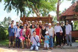 Du lịch thường niên kết hợp Hỗ trợ Bà con khó khăn Hàm Thuận Nam của An Lĩnh Construction