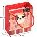Túi giấy đựng quà Gấu trúc đỏ - nhỏ - M2 30g